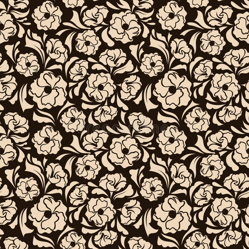 Download Безшовный цветочный узор. иллюстрация вектора. иллюстрации насчитывающей картина - 37925438