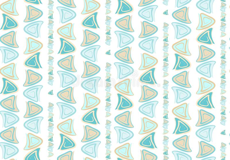 Abstract wavy spotted seamless pattern for fabric print on paper royalty free illustration