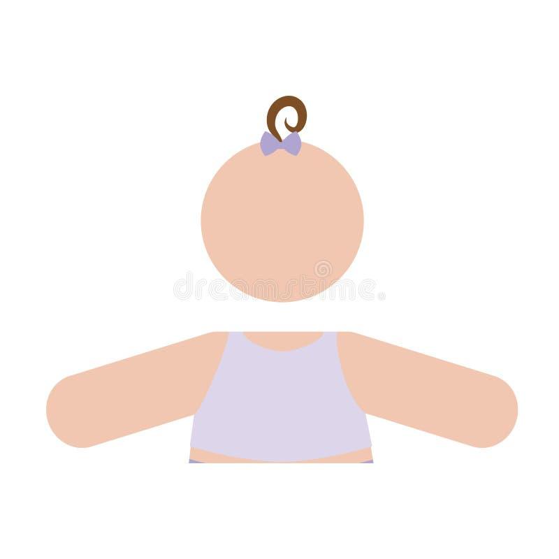 Download Безликое изображение значка младенца Иллюстрация вектора - иллюстрации насчитывающей мило, передвижно: 81800795