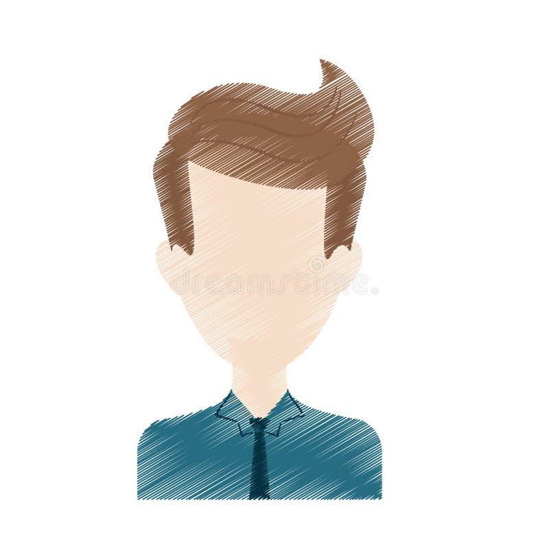 Download Безликое изображение значка человека Иллюстрация вектора - иллюстрации насчитывающей доверие, уверенно: 81800120