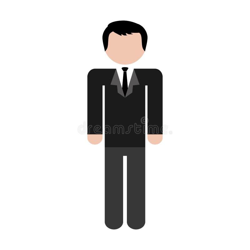 Download Безликое изображение значка человека Иллюстрация вектора - иллюстрации насчитывающей доверие, конструкция: 81800640