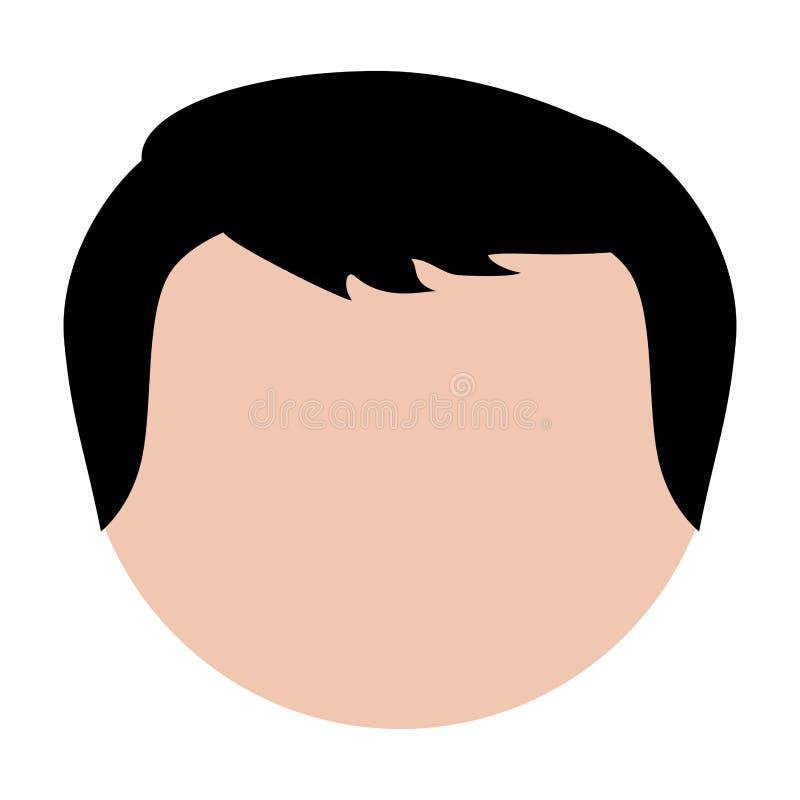 Download Безликое изображение значка человека Иллюстрация вектора - иллюстрации насчитывающей успешно, символ: 81800736