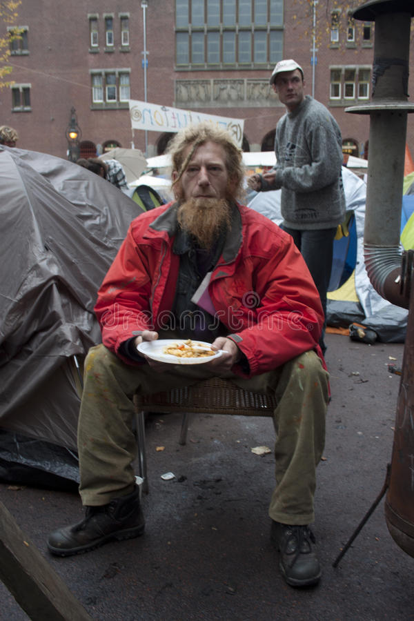 бездомная персона стоковая фотография