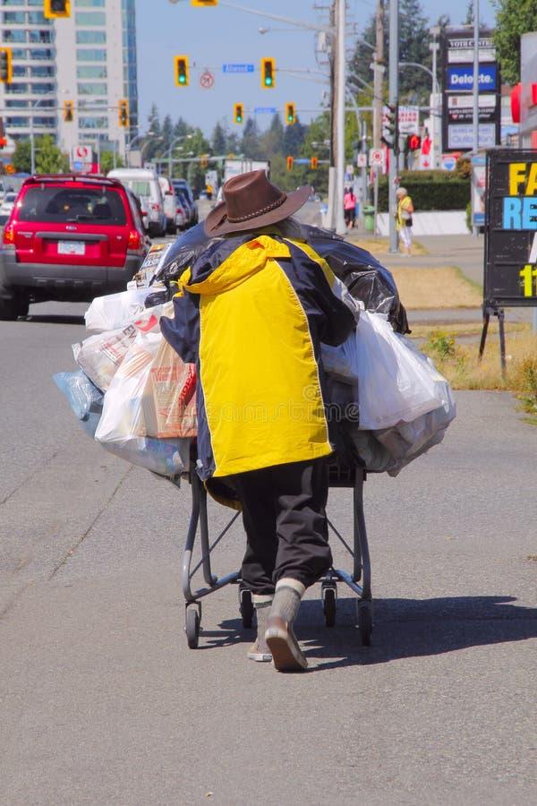 бездомная персона стоковые фото