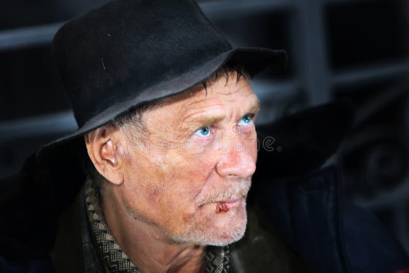 Бездомные как стоковая фотография rf