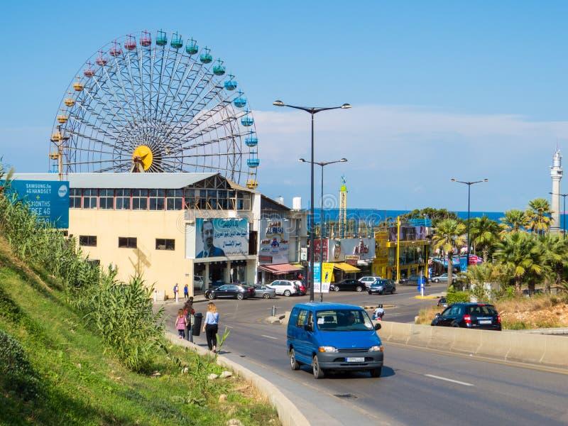 Бейрут Luna Park в Бейруте, Ливане стоковое изображение rf