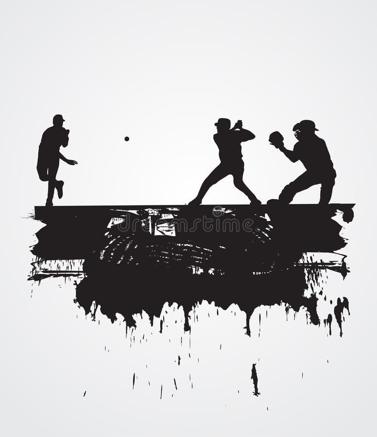 бейсболисты Стоковая Фотография RF