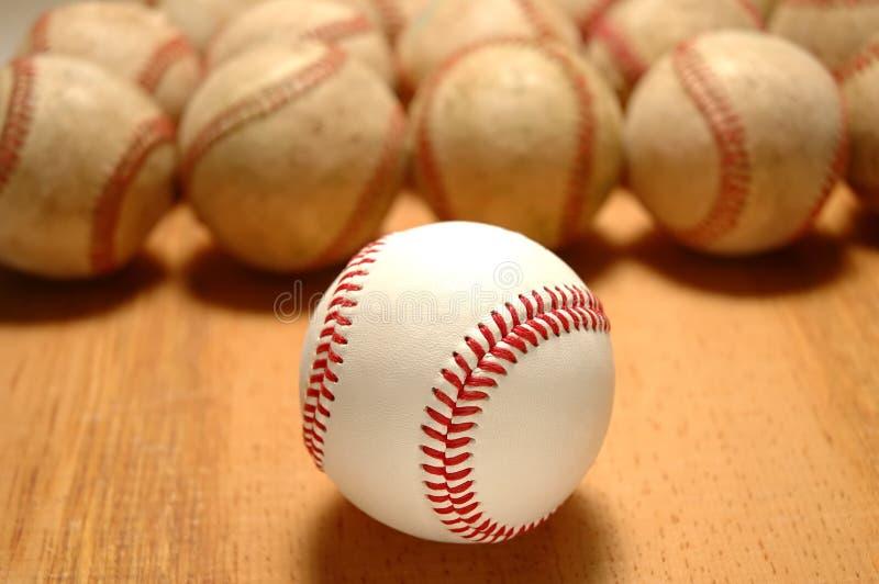 бейсболы стоковое фото