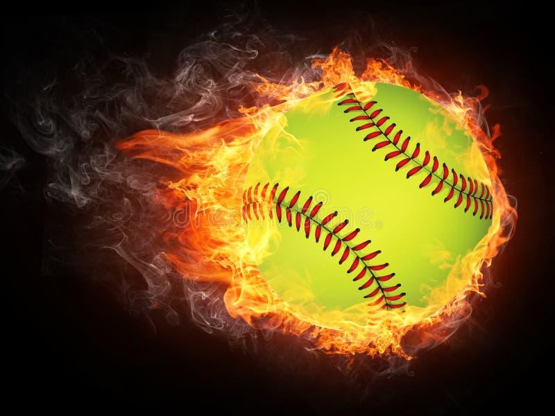 бейсбол шарика иллюстрация вектора