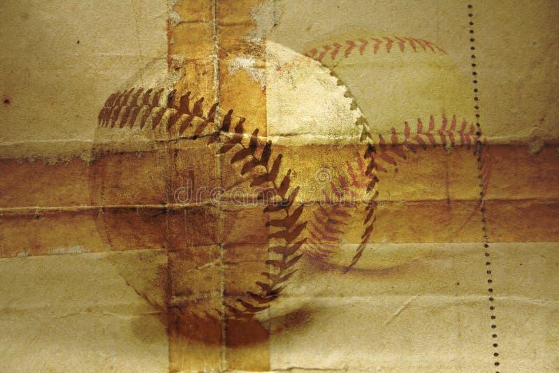 бейсбол иллюстрация вектора
