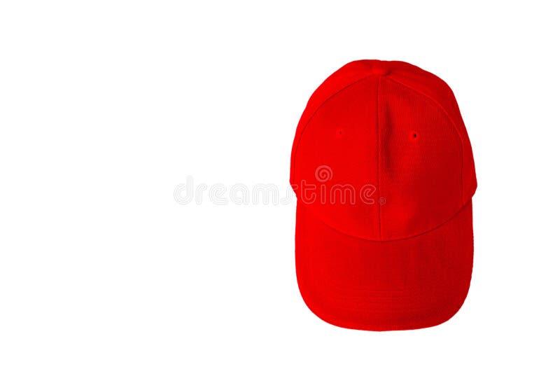 Бейсбольная кепка с пустым пространством стоковая фотография rf