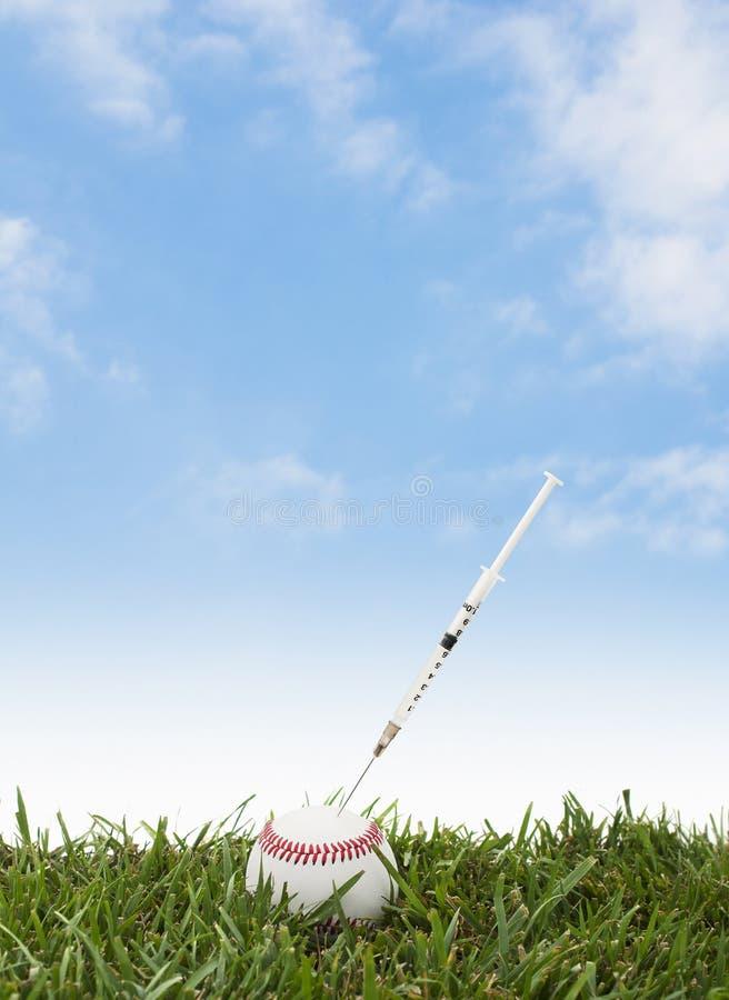Бейсбол Steriod стоковые фото