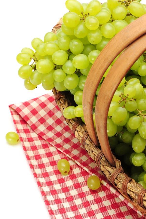 Белая виноградина стоковое изображение rf