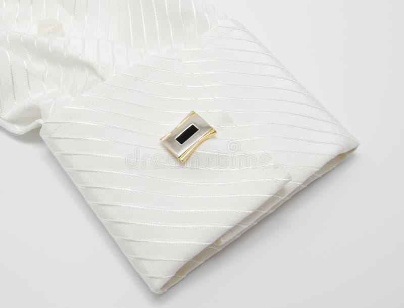 Белая втулка с соединением тумака стоковые фотографии rf