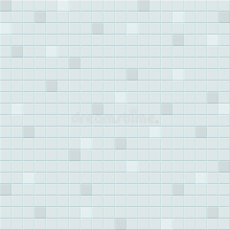 Белая иллюстрация плитки иллюстрация штока