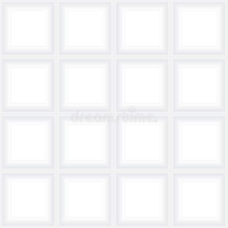 Белая картина рамки бесплатная иллюстрация