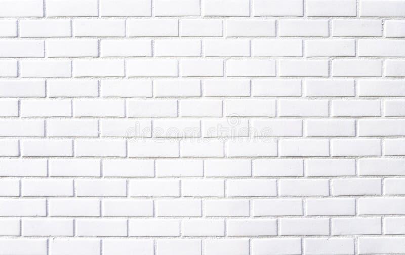 Белая кирпичная стена текстура, фон для дизайна стоковые фотографии rf