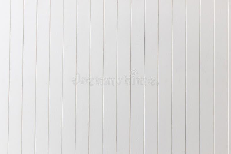 Белая панель стены текстуры деревянных или планки предпосылки стоковые изображения rf