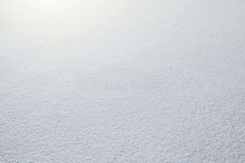 Белая поверхность сугроба, естественная предпосылка стоковые изображения rf