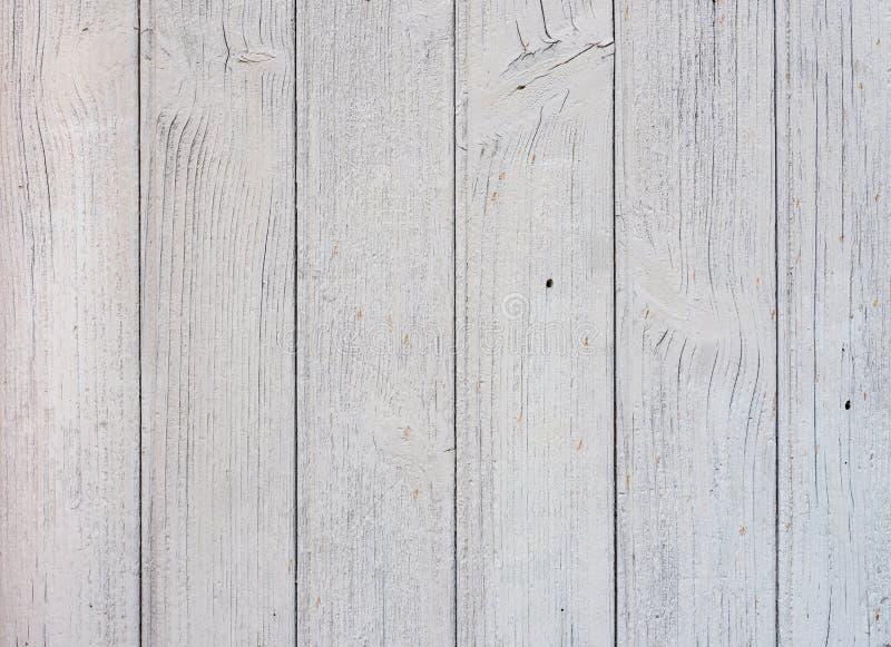 Белая покрашенная текстура планок деревянная стоковое фото rf