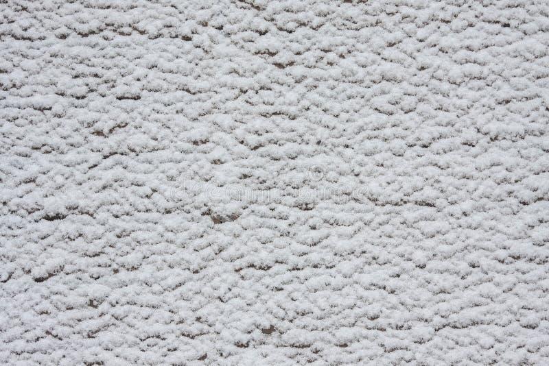 Белая предпосылка текстуры снега стоковое фото rf