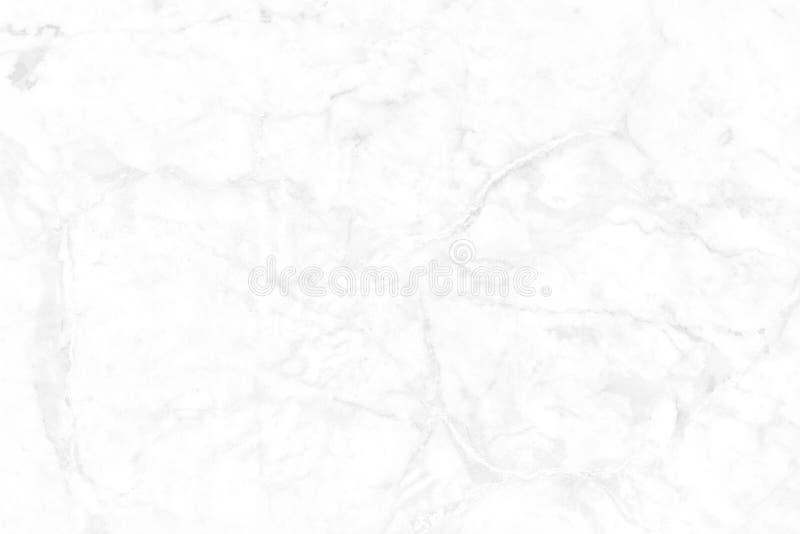 Белая серая мраморная предпосылка текстуры с высоким разрешением, взглядом сверху естественного камня плиток в роскошной и безшов стоковая фотография rf