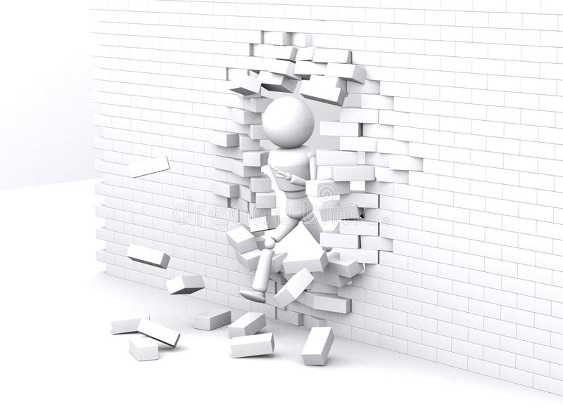 Белая стена. бесплатная иллюстрация