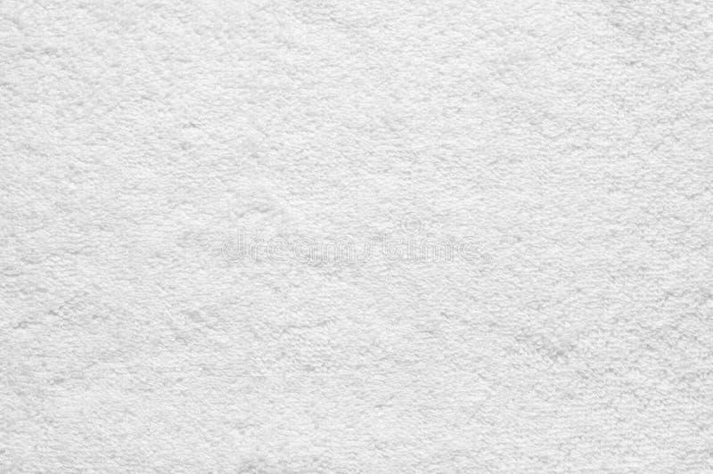 Белая текстура ткани Terry стоковое фото rf