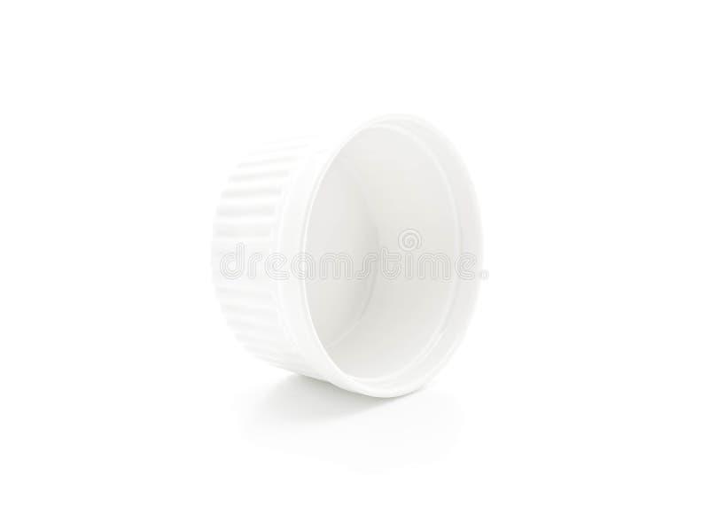 белая чашка шара стоковые изображения