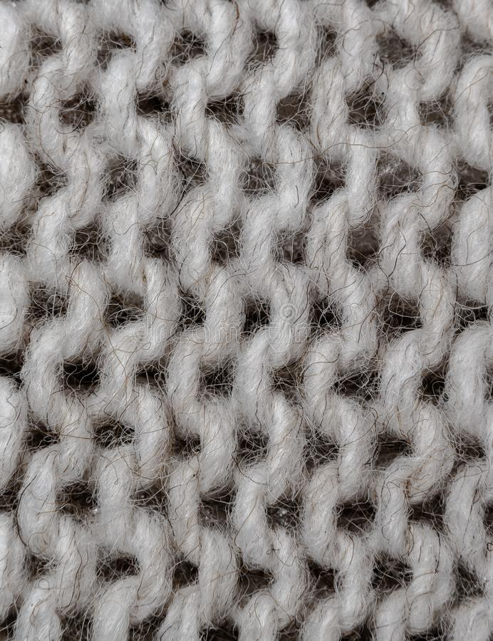 Белая черная шерстяная текстура стоковое фото rf