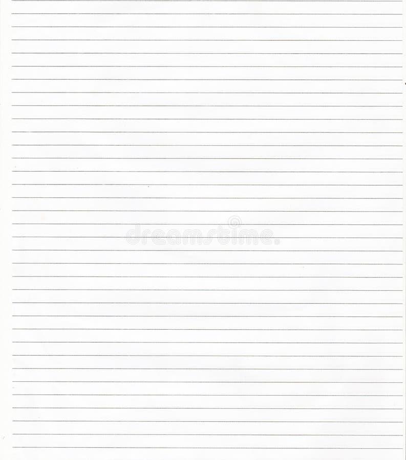 Белая Striped предпосылка текстуры бумаги Folio стоковая фотография