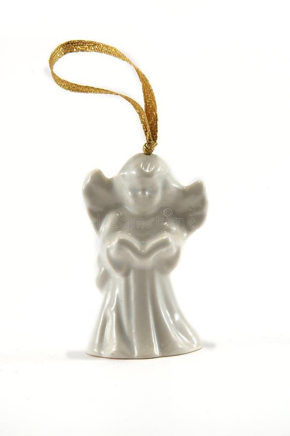 белизна ангела стоковая фотография rf
