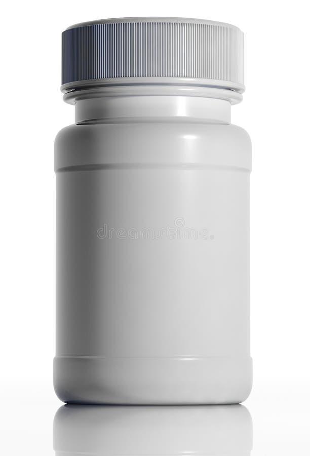 белизна бутылки медицинская пластичная иллюстрация штока