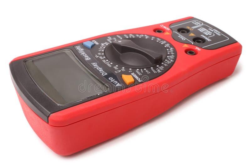 белизна вектора вольтамперомметра предпосылки цифровой изолированная иллюстрацией стоковые фото