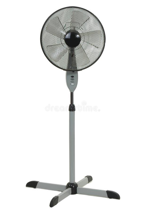 белизна вентилятора пола предпосылки стоковая фотография rf