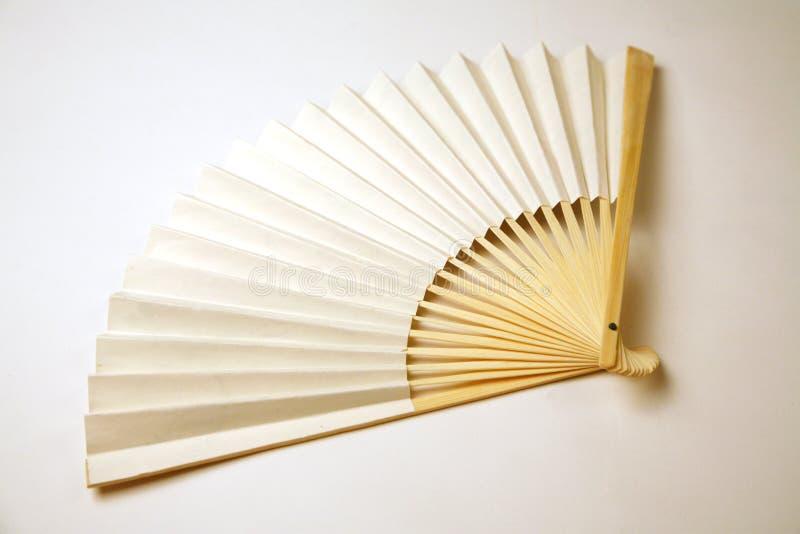 белизна вентилятора стоковая фотография rf