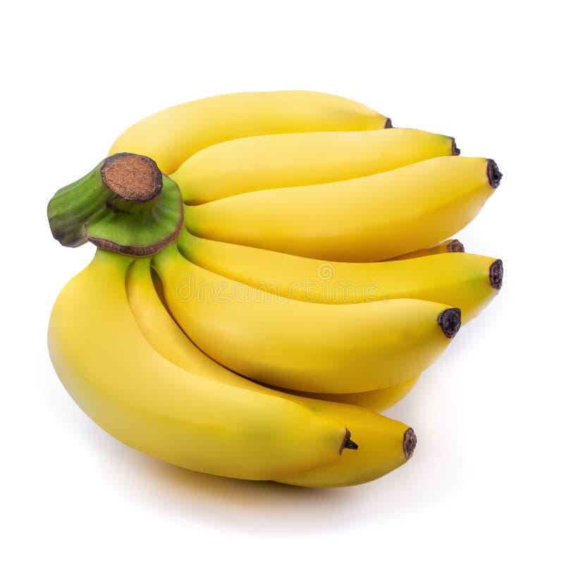 белизна версии вектора пука бананов предпосылки стоковые изображения