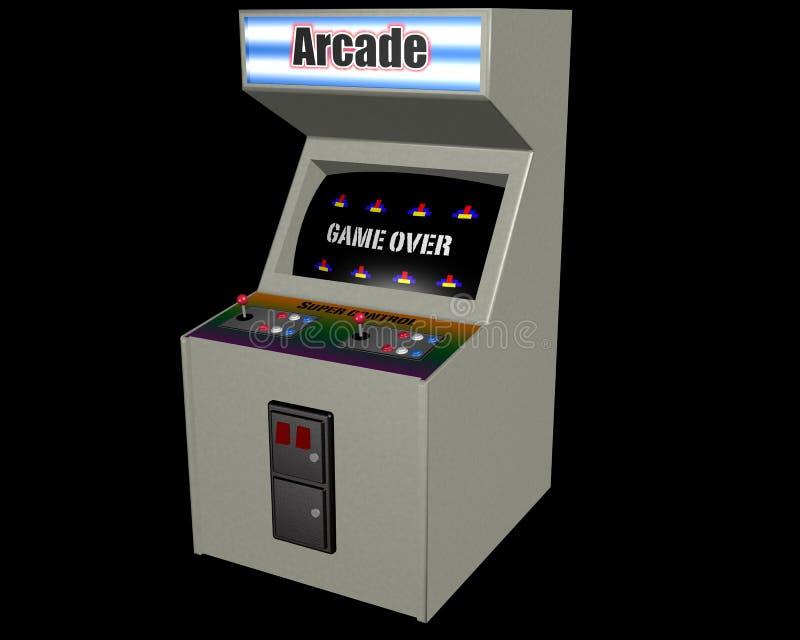 белизна видеоигры иллюстрация штока
