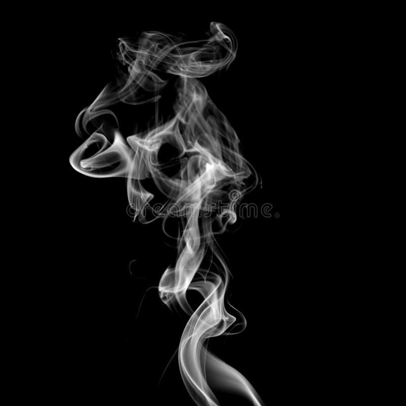 белизна дыма стоковое изображение