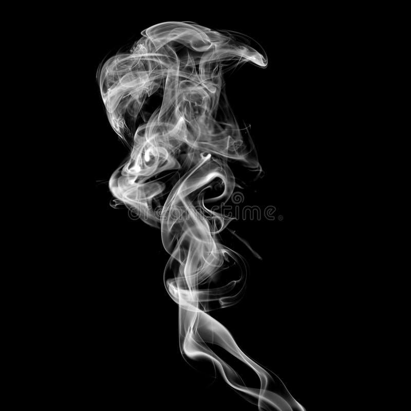 белизна дыма стоковая фотография