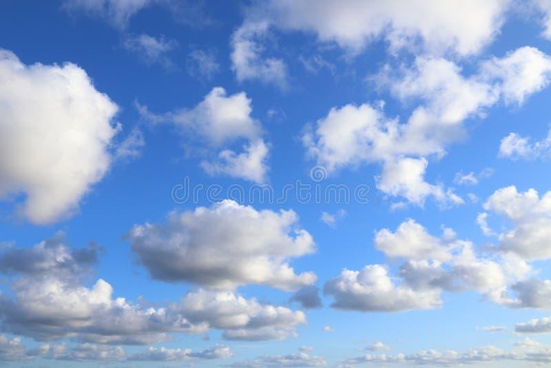 Белизна заволакивает небо стоковое фото