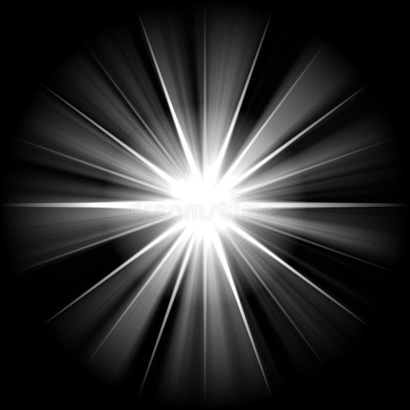 белизна звезды иллюстрация штока
