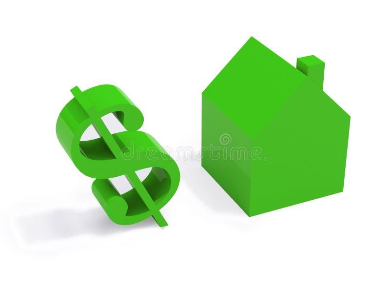 Download белизна зеленой дома предпосылки Иллюстрация штока - иллюстрации насчитывающей выпуклины, финансовохозяйственно: 6851469