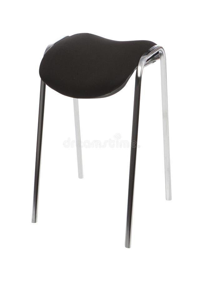 белизна изолированная стулом стоковая фотография rf