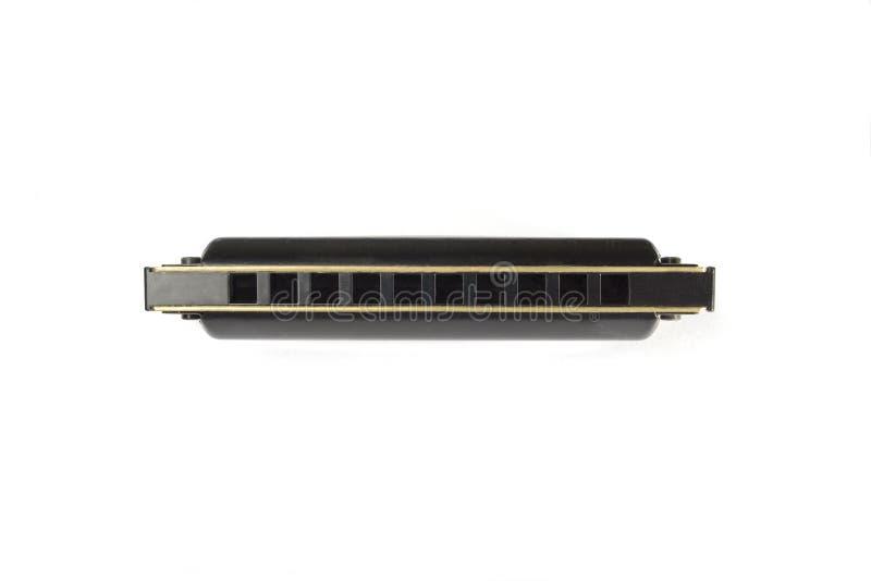 белизна изолированная harmonica стоковые фотографии rf