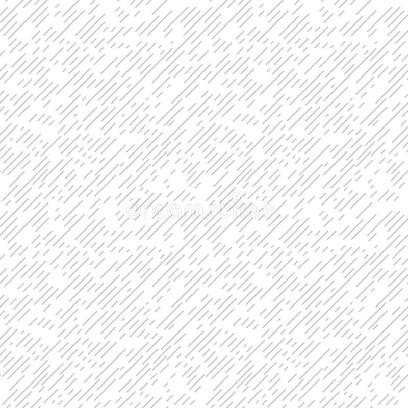 Белизна и серая текстурированная диагональ выравнивают картину ткани безшовную, вектор бесплатная иллюстрация