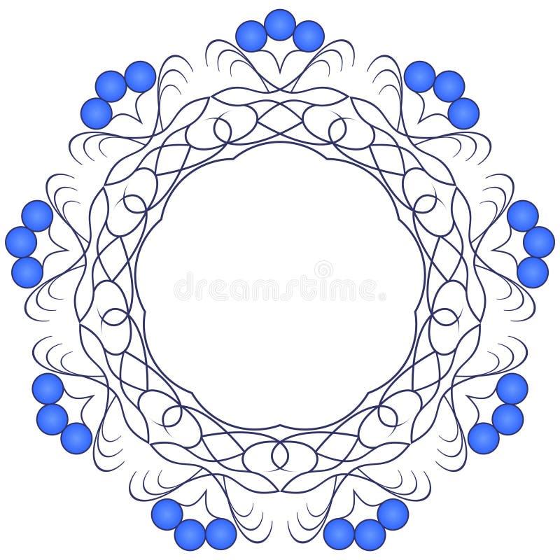 белизна картины предпосылки голубая темная бесплатная иллюстрация