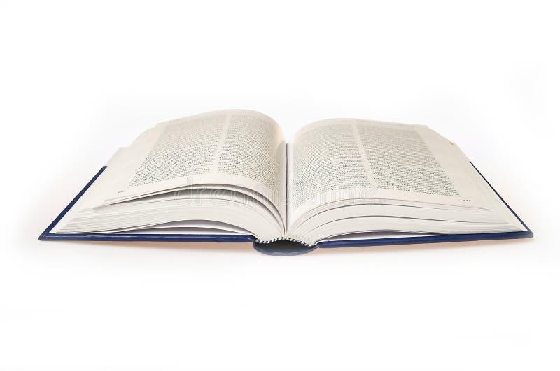 белизна книги предпосылки открытая стоковые фото