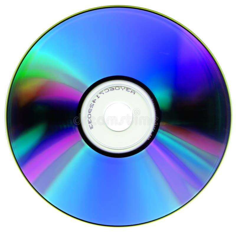 белизна компактного диска изолированная стоковая фотография