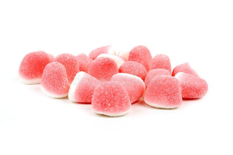 белизна конфеты розовая сладостная стоковая фотография rf